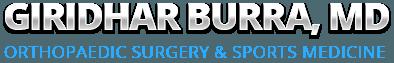 Giridhar Burra, MD Orthopaedic Surgery & Sports Medicine